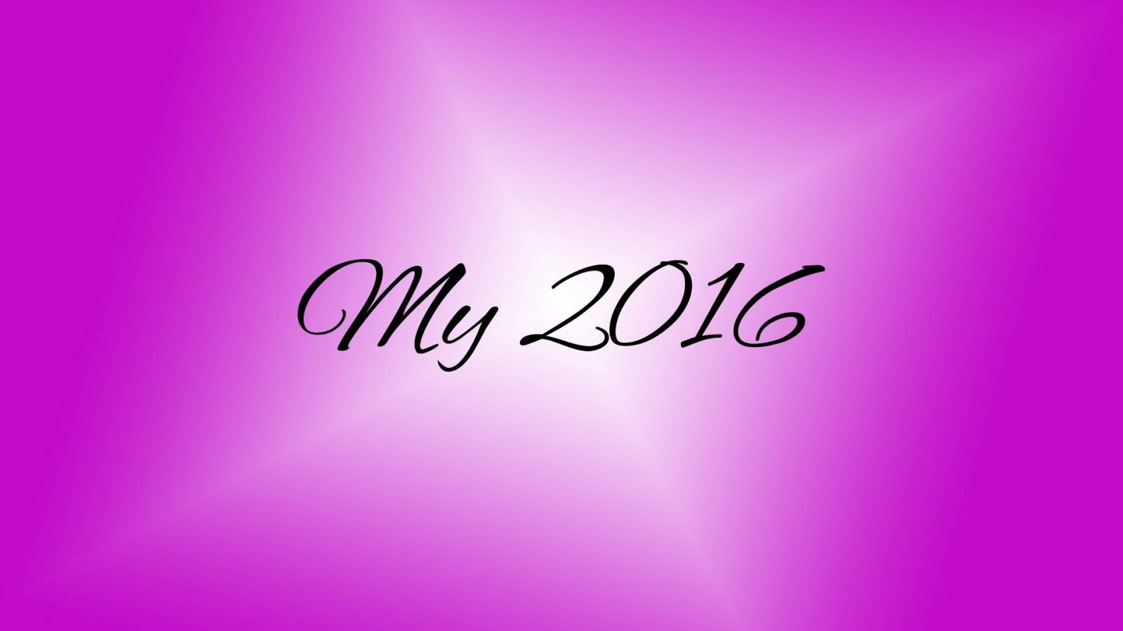Looking Back on My 2016