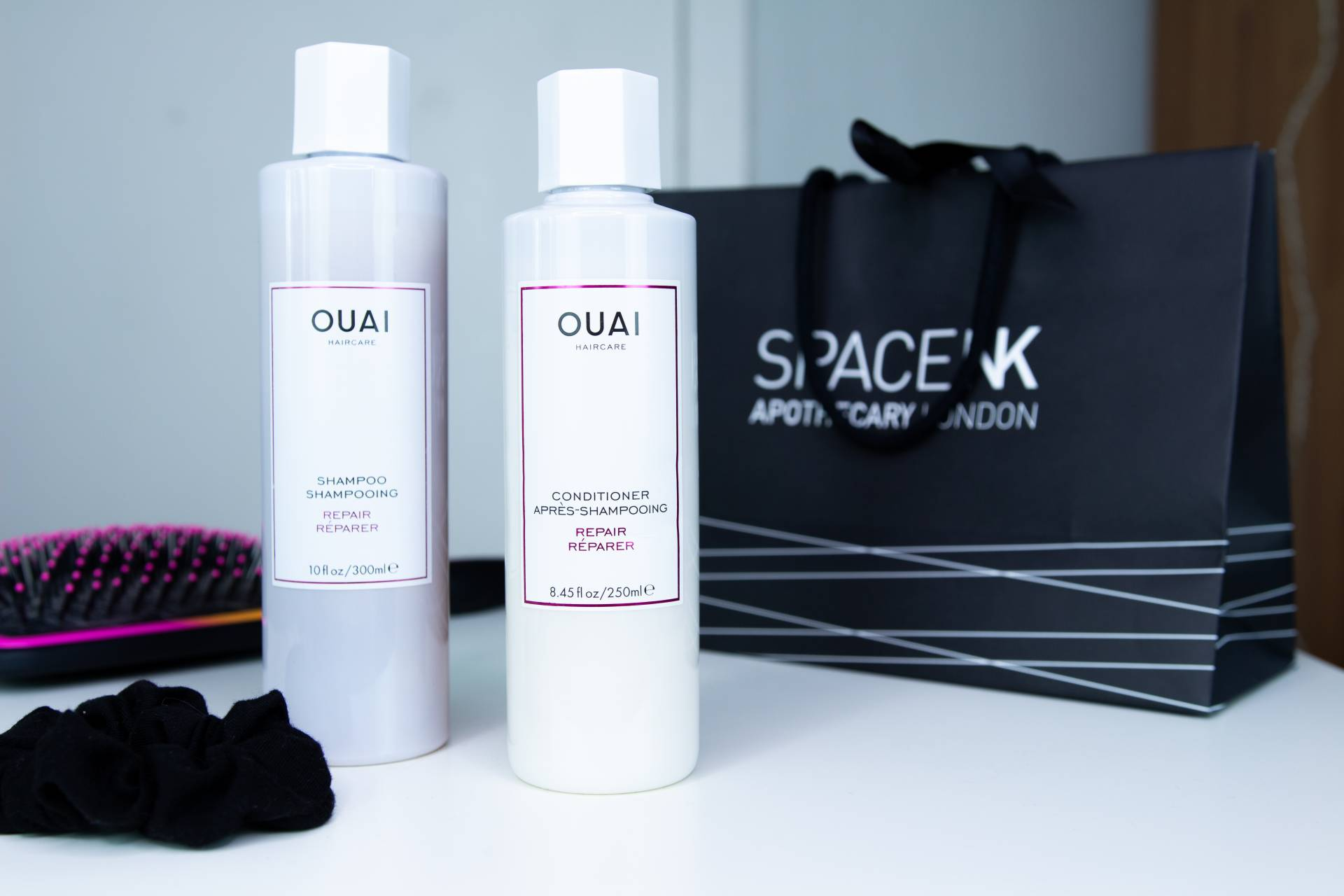 OUAI Repair Shampoo & Conditioner